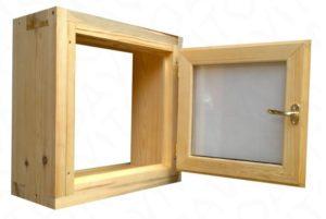 Вставить окно в баню