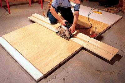Правильно распиливаем древесину