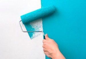 Быстро покрасить стены