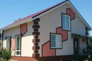 Фасадные краски на водной дисперсии